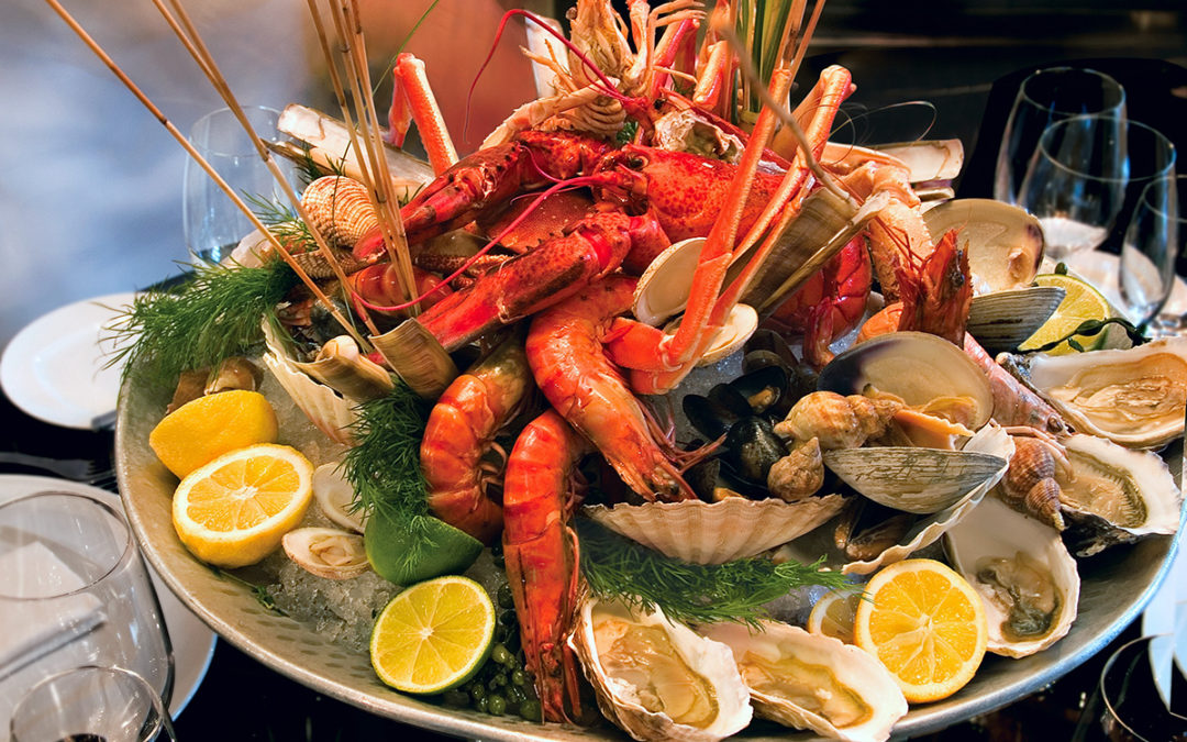Soirée spéciale fruits de mer